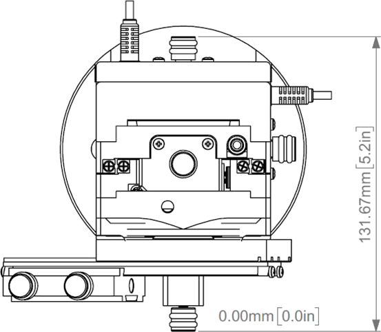 PatchStar Micromanipulator Schematic Birdseye View
