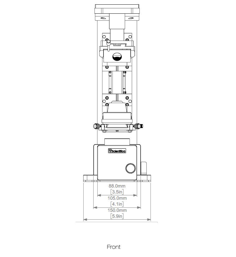 SliceScope Upright Microscope Schematics